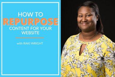 Raki Wright talks about content strategy tips