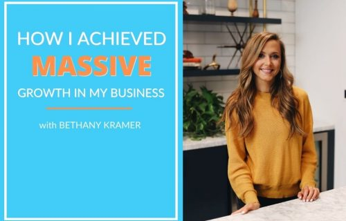 Bethany Kramer Headshot - How I Achieved Massive Growth